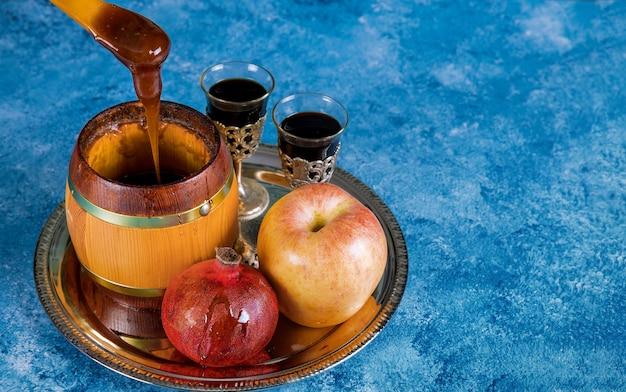 Rosh hashanah jewish new year Premium Photo