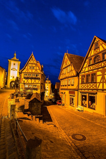 Tauber der rothenburg ob Rothenburg on