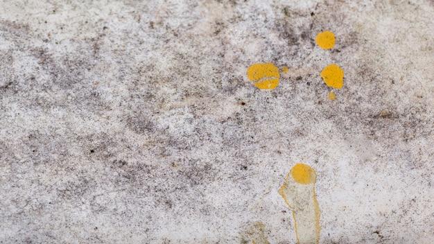 All'aperto ruvido sfondo texture con vernice gialla Foto Gratuite