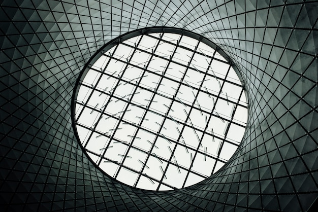Round glass roof Free Photo
