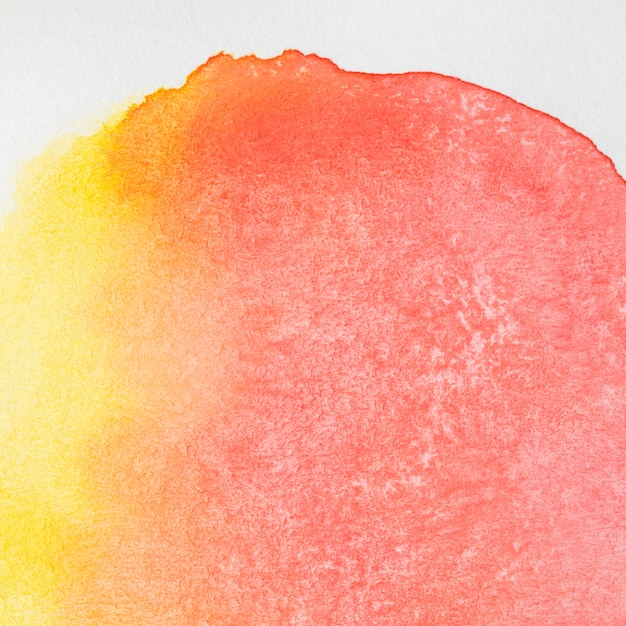Round shape of abstract watercolour ink backdrop Free Photo