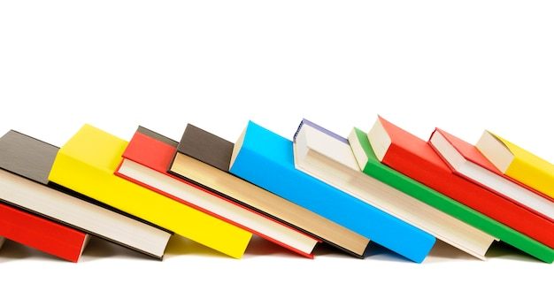 Row of colorful books Photo | Free Download