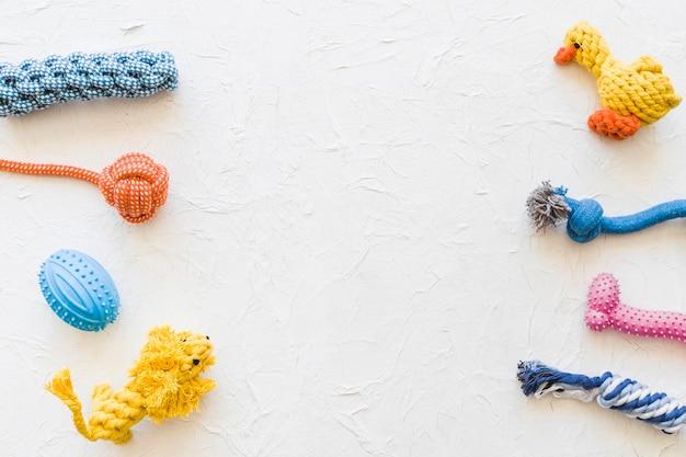 Rows of pet toys Free Photo