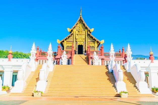 Royal pavillion at chaing mai Free Photo