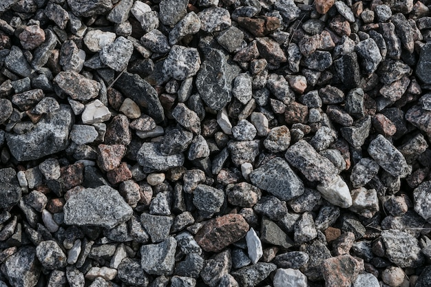 Rubble texture natural abstract background Premium Photo