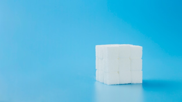 Rubik's cube made of sweet sugar Free Photo