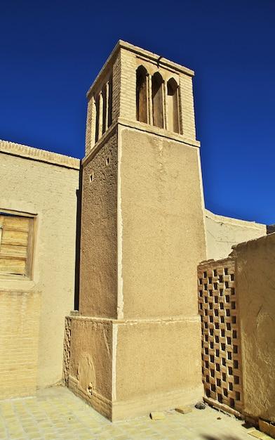 Руины заброшенного города наин в иране Premium Фотографии