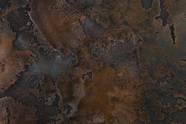 Rust on coarse metal surface Free Photo