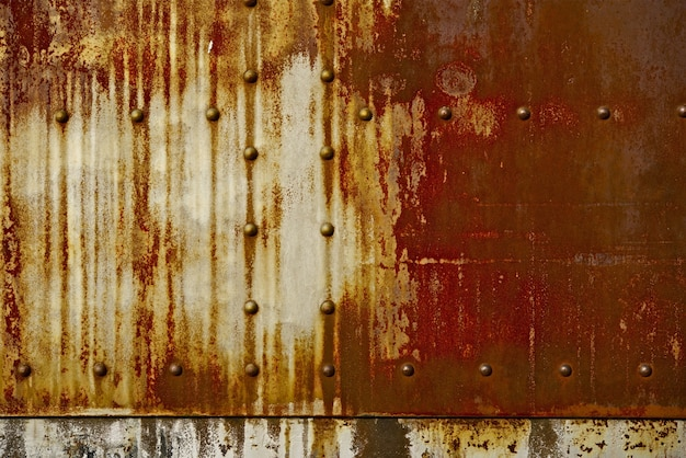 Rust on metal background Free Photo