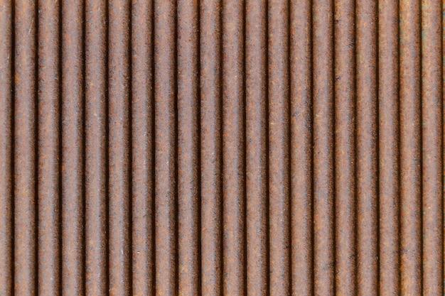Rusted galvanized iron plate background Premium Photo