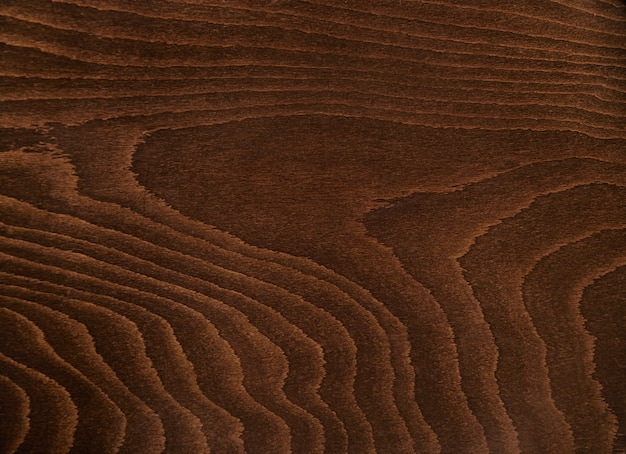 Rustic dark brown wood texture close up shot, table or other furniture Free Photo