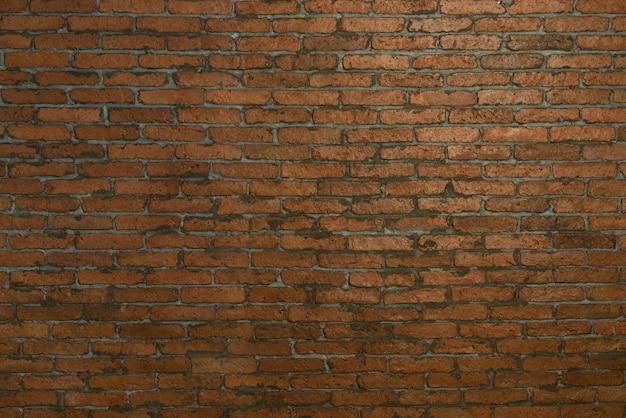 Rustic grunge red brick wall background Premium Photo