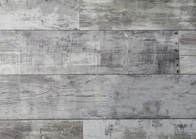 Rustic weathered wood surface with long boards lined up Free Photo