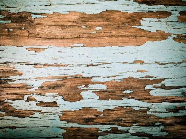 Rustic Wood Background With Old Color Premium Photo