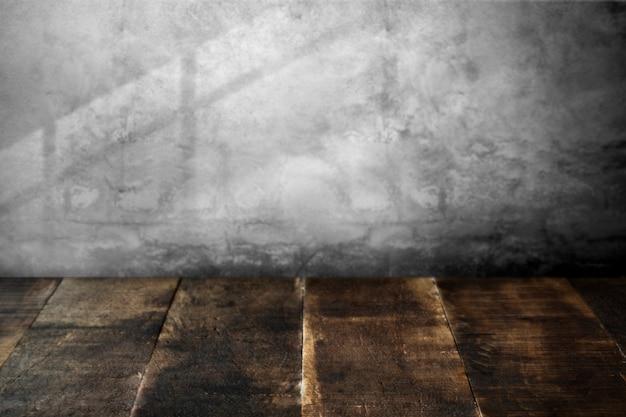 Rustic wooden floor Free Photo