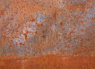 Rusty metal texture  steel  surface Free Photo