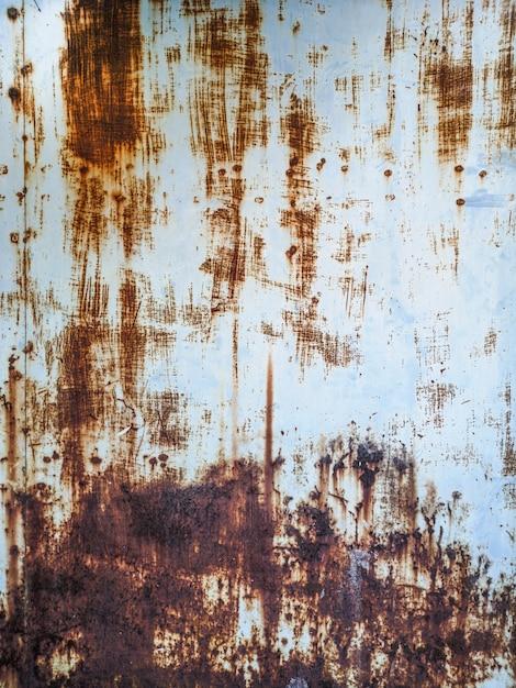 Rusty metal wall texture. Premium Photo