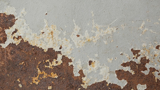 Rusty and scratched steel texture background Premium Photo