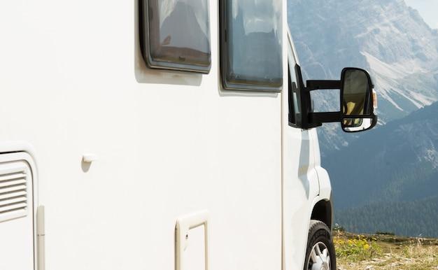 Rv camper scenic camping Free Photo