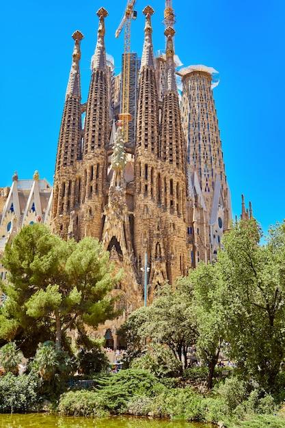 Premium Photo Sagrada Familia Church In Barcelona Church Of The Holy Family