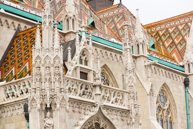 Saint matthias church in budapest Premium Photo