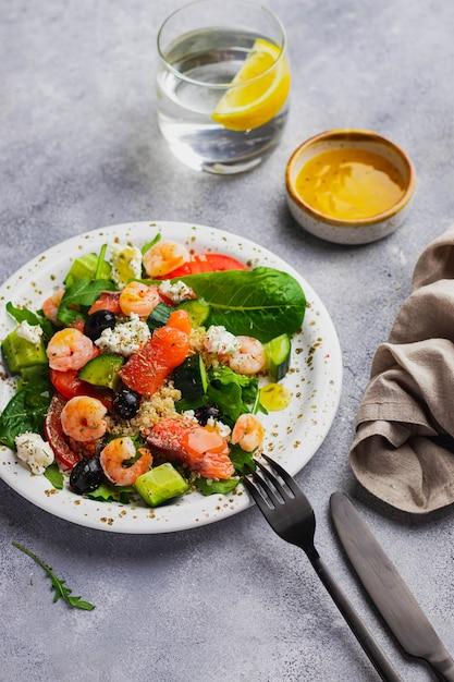 Shrimp Salad Recipe With Black Olives