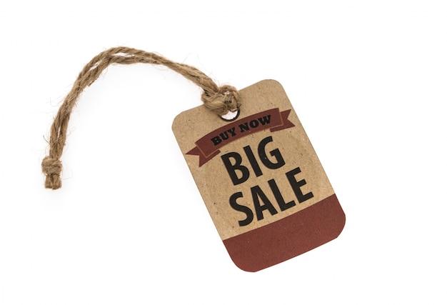 Sale coupon, voucher, tag. vintage style Free Photo