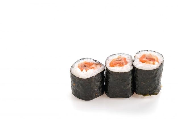 Salmon ebi roll Free Photo