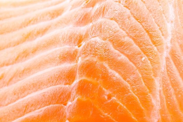 Salmon meat background Free Photo