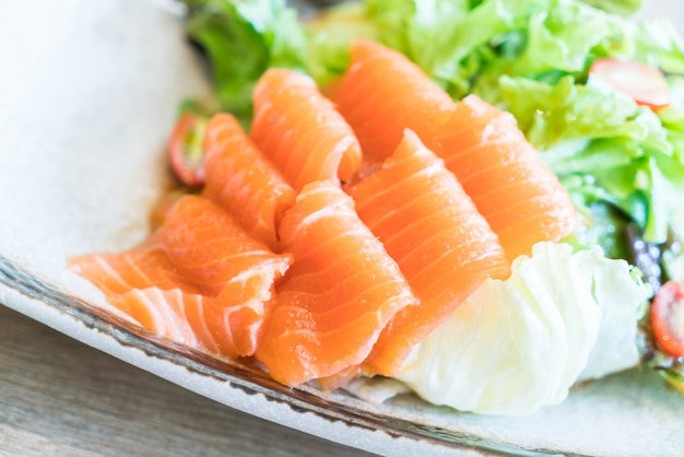 Salmon salad Free Photo