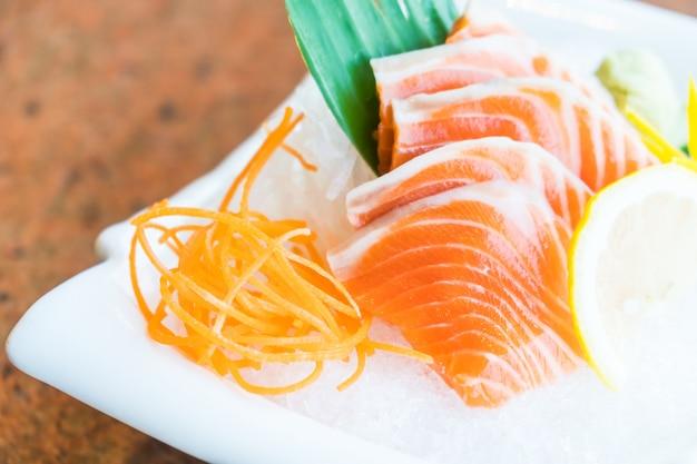 Sashimi di salmone Foto Gratuite