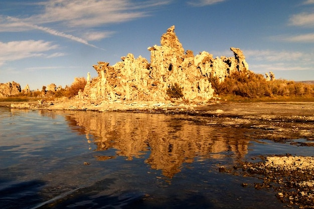 salt tufa usa desert california mono lake Free Photo