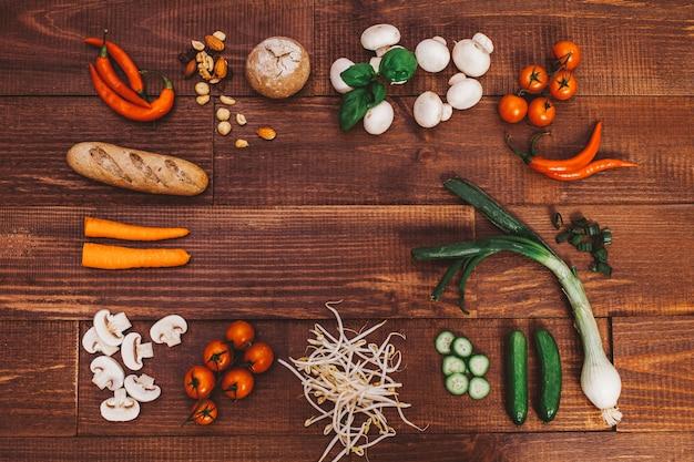 Здоровая пища Premium Фотографии