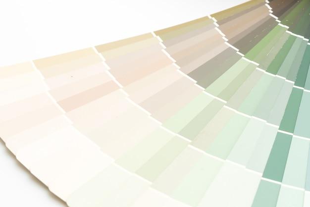 Sample colors catalogue pantone Premium Photo