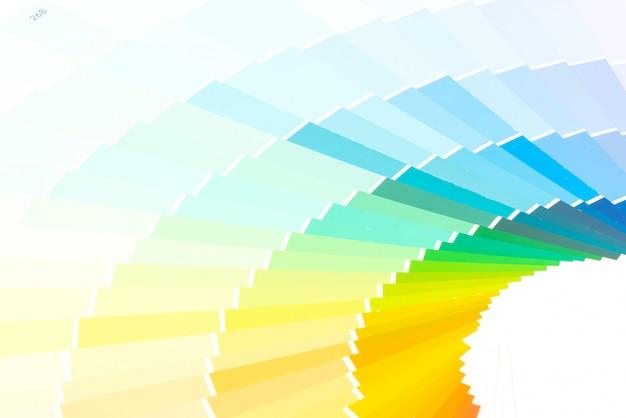 Каталог образцов цветов Premium Фотографии