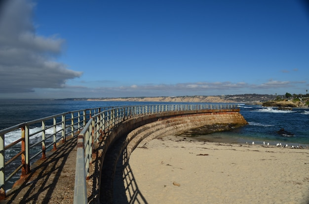 San diego beach Premium Photo
