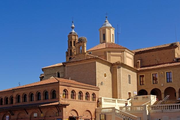 San Francisco Church Tarazona Zaragoza Aragon Spain Photo Premium
