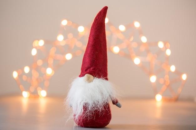 Immagini Natalizie Gratuite.Babbo Natale E Luci Natalizie Foto Gratis