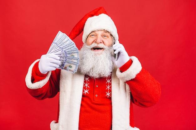Santa claus portrait Premium Photo