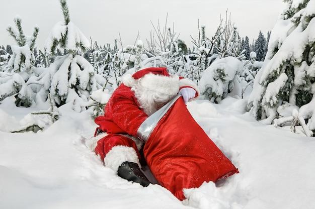 Santa Claus With His Sack Photo