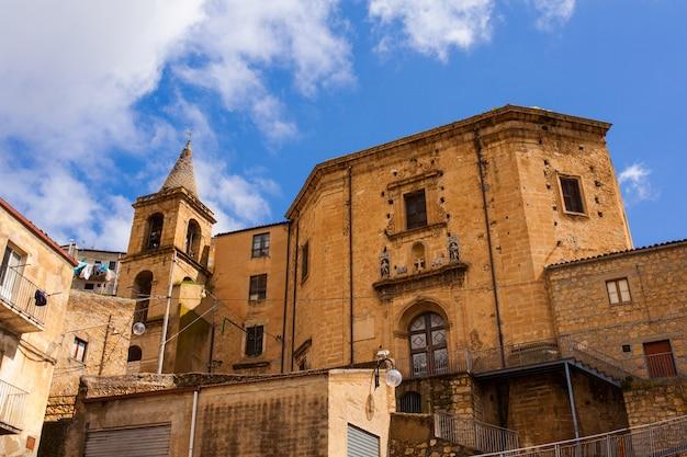 Santo stefano church, leonforte Premium Photo
