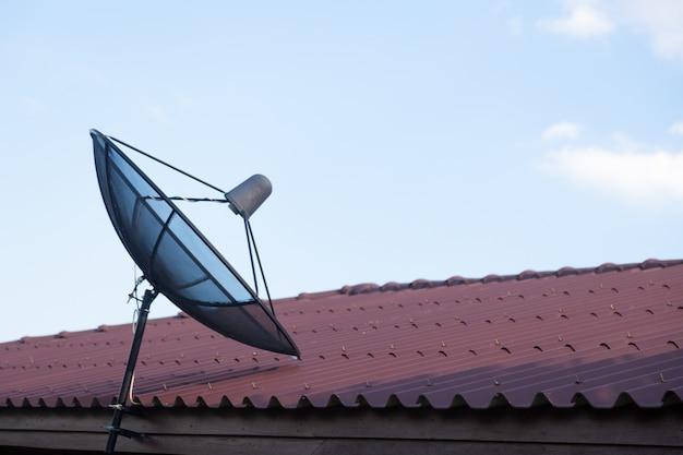 Satellite tv Premium Photo