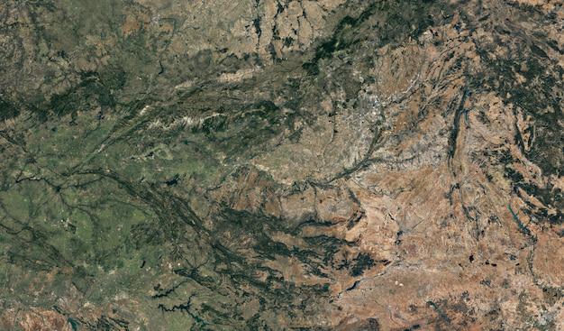 Satellite view texture Premium Photo
