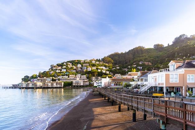 Sausalito resort town for san francisco people Premium Photo