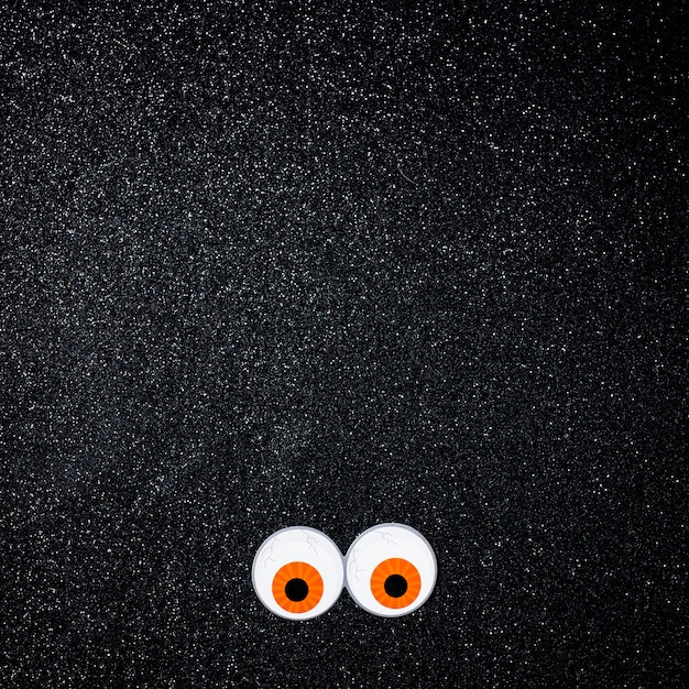Scary eyes with copy space for text Free Photo