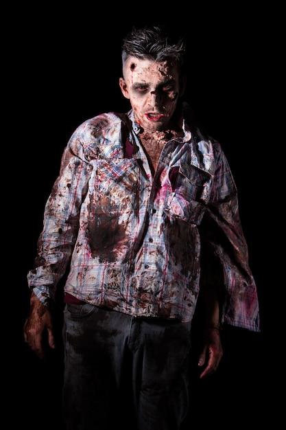 Scary zombie cosplay Free Photo