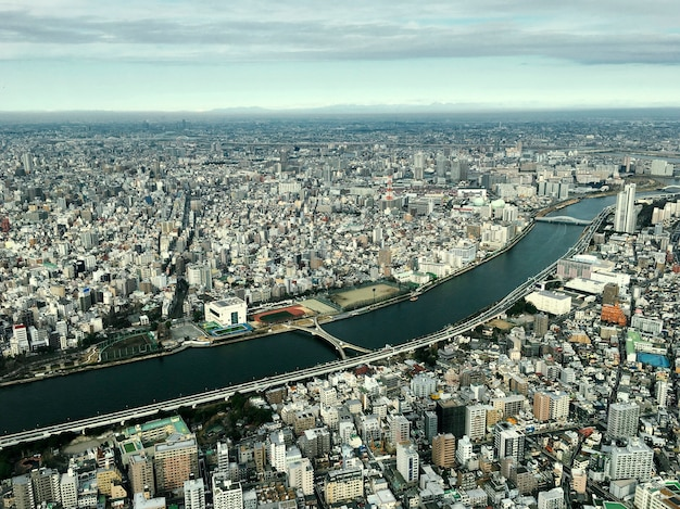 Scenic of landscape japan downtown Free Photo