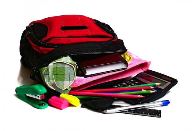 School backpack Premium Photo