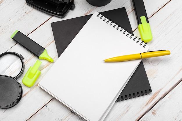 School and office supplies Premium Photo