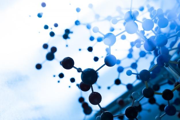 Science molecule dna model structure Premium Photo